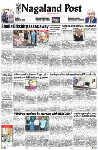July 21, 2019 by Nagaland Post - issuu