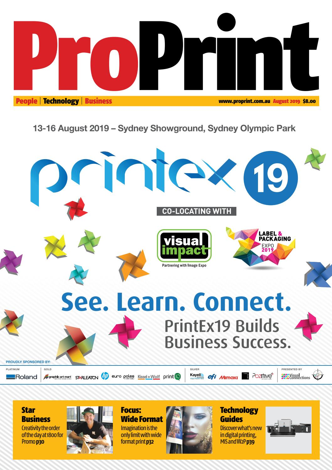ProPrint August 2019 by The Intermedia Group - issuu