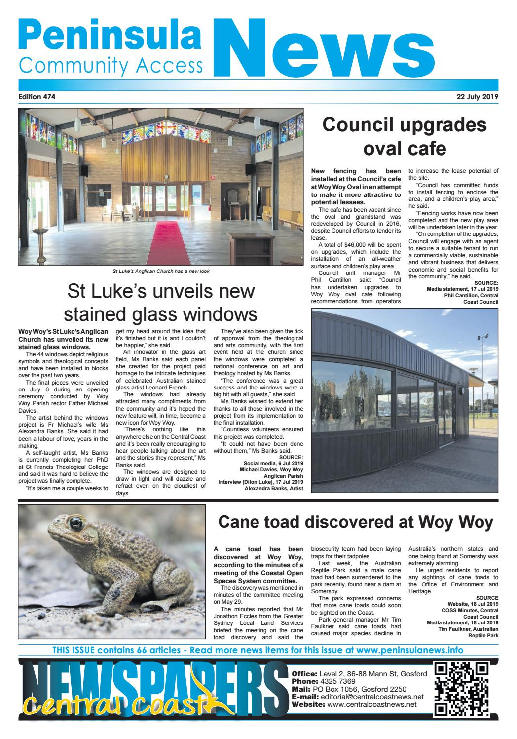 Peninsula News 474 by Central Coast Newspapers - issuu