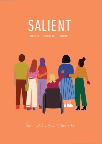 Issue 15 Feminism By Salient Issuu