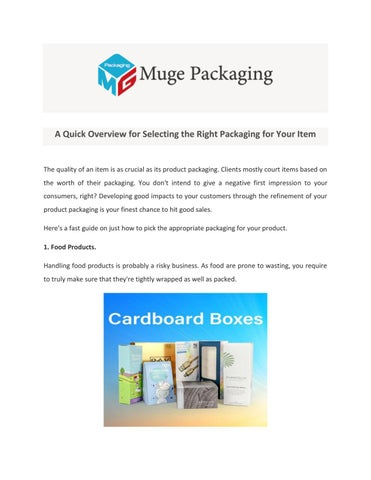 Corrugated Boxes Wholesale | Muge Packaging by Muge