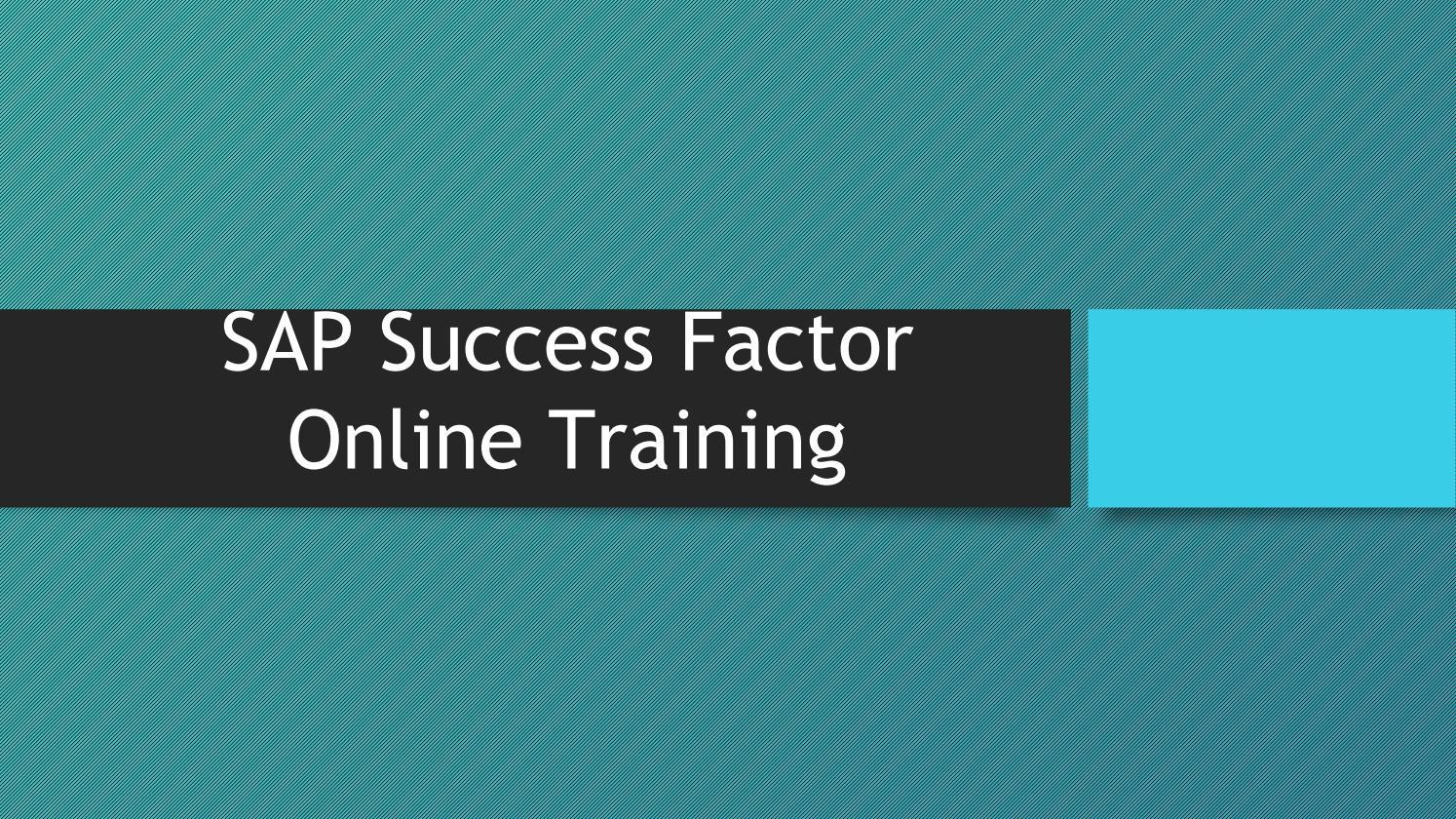 SAP Success Factors PPT by sonaliaitsdm001 - issuu