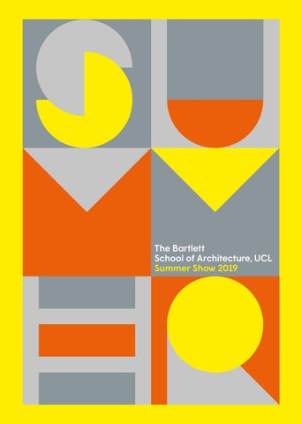 3bfb5c2e8bffd The Bartlett Summer Show Book 2019 by The Bartlett School of ...