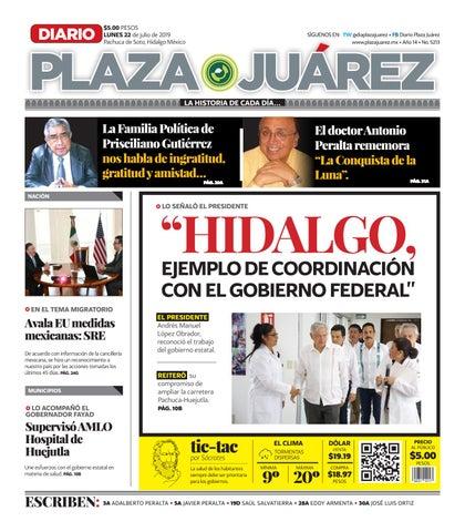 22 07 19 By Diario Plaza Juárez Issuu