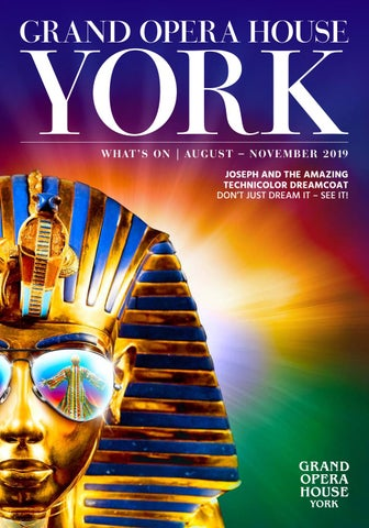Grand Opera House York – Official Tickets for York's Grand
