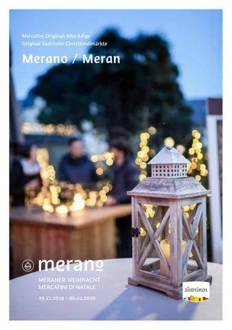 Brochure Estiva Mercatini Di Merano Sommerbrochüre Meraner