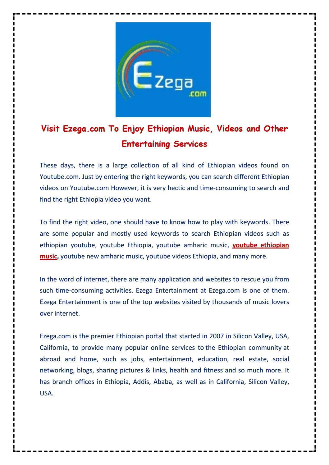 Ezega com - Ethiopian Music by ezega - issuu