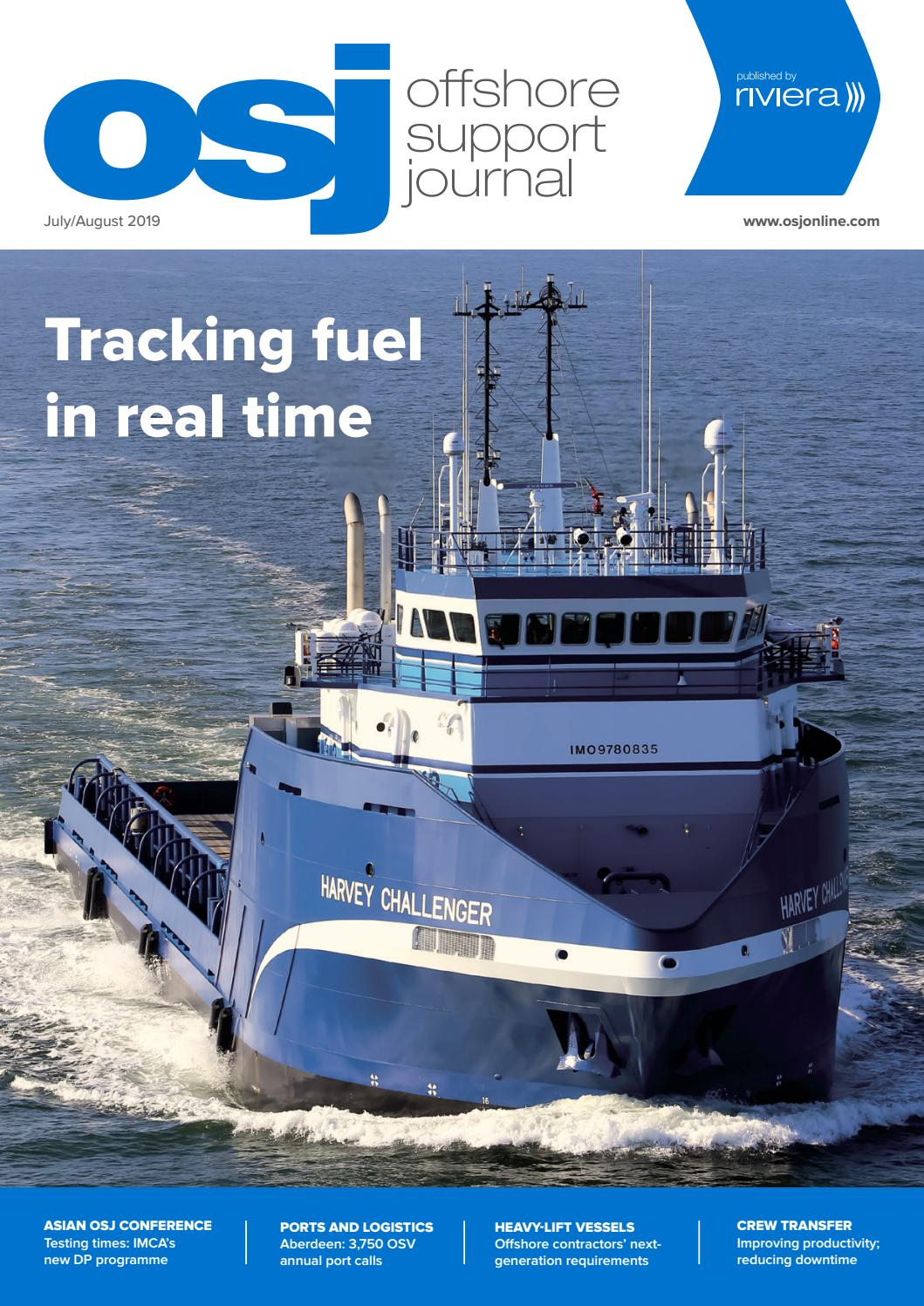 Offshore Support Journal July/August 2019 by