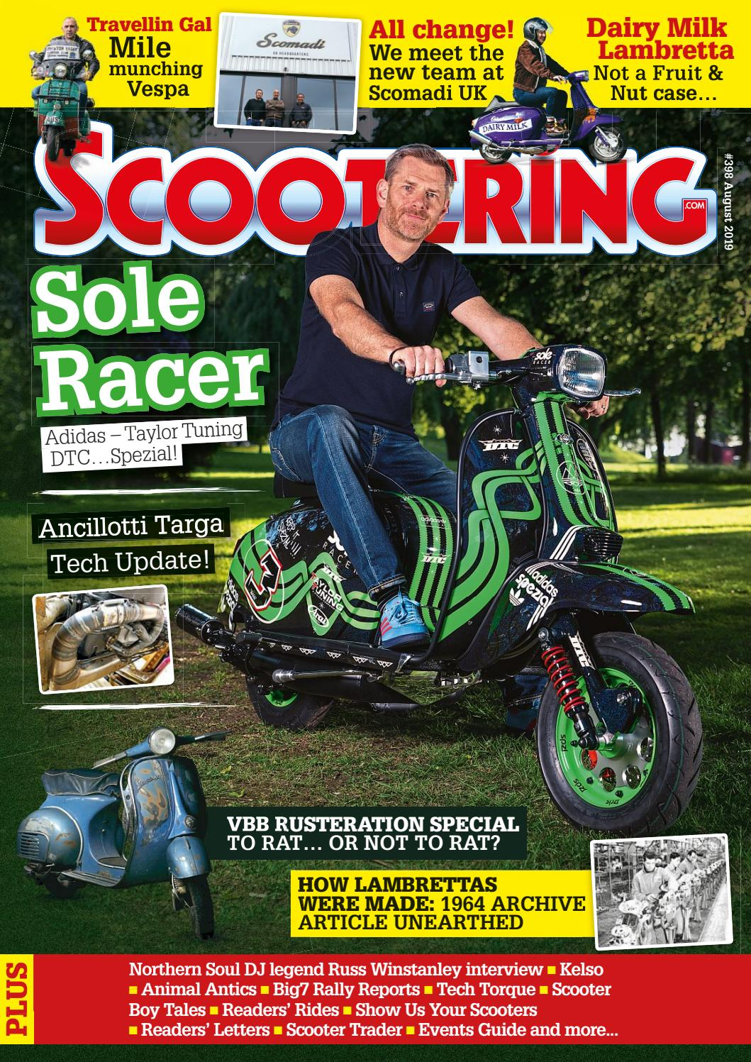 Scootering Magazine August 2019 by Mortons Media Group Ltd