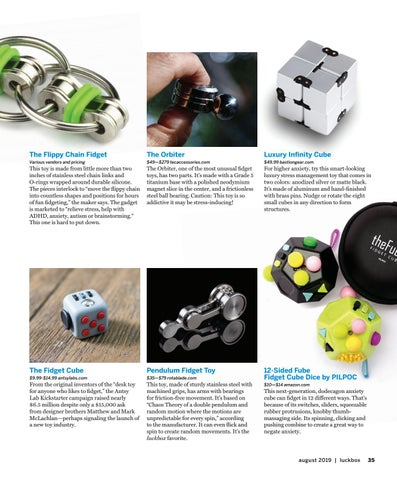 Page 39 of Trends-Diversions-8 Favorite Fidget Toys