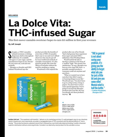 Page 43 of La Dolce Vita: THC-infused Sugar