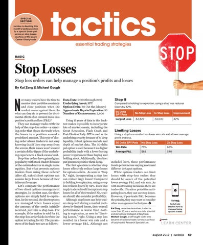 Page 63 of Tactics Series-Stop Losses