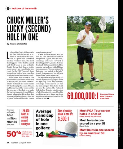 Page 68 of Chuck Miller's Lucky (Second) Hole in One