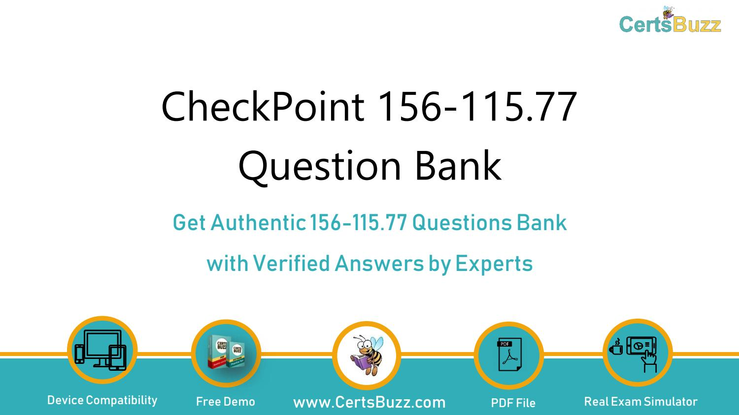 Check Point Certified Security Master 156-115.77 Exam Q/&A PDF+SIM