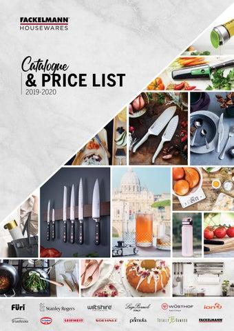 2019-2020 Fackelmann Housewares Catalogue by
