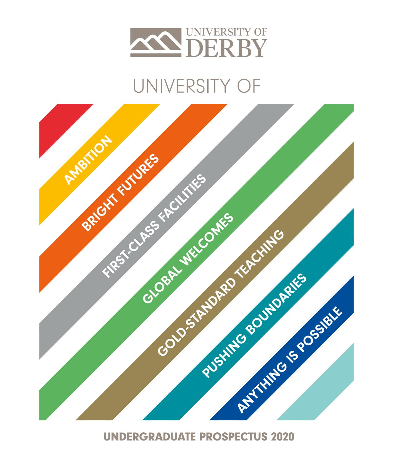 Undergraduate Prospectus 2020 by UNIVERSITY OF DERBY - issuu
