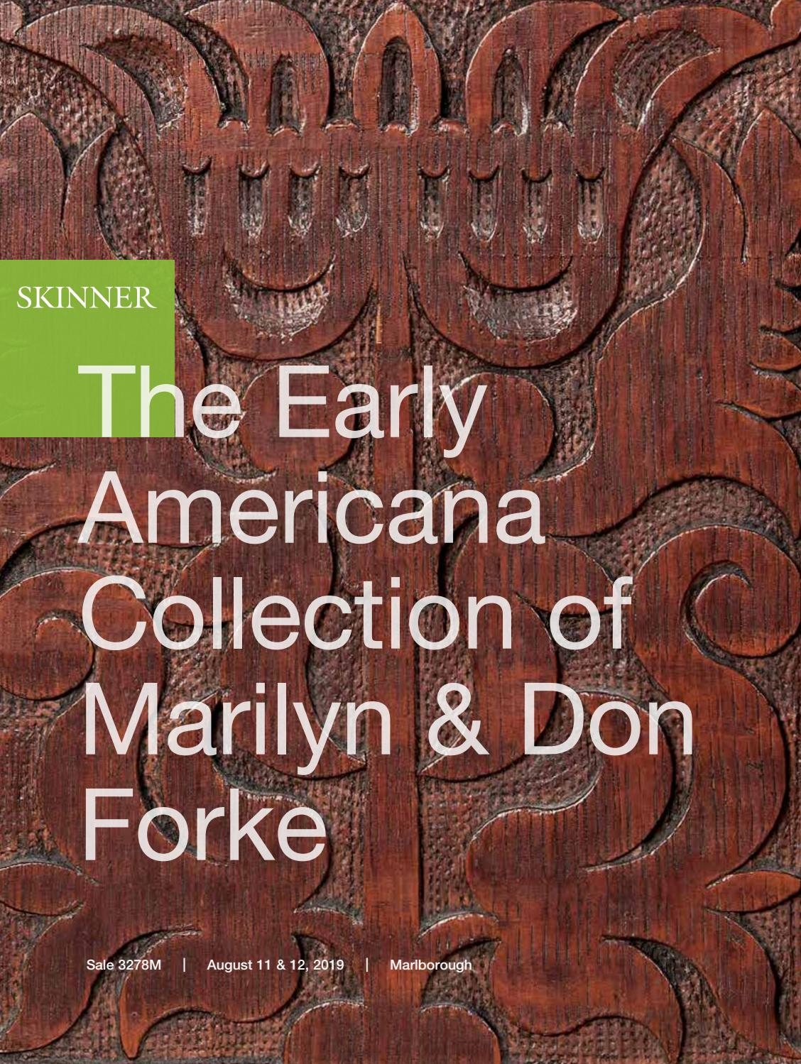 The Forke Collection of Early Americana | Skinner Auction