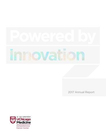 2017 Annual Report - University of Chicago Medicine