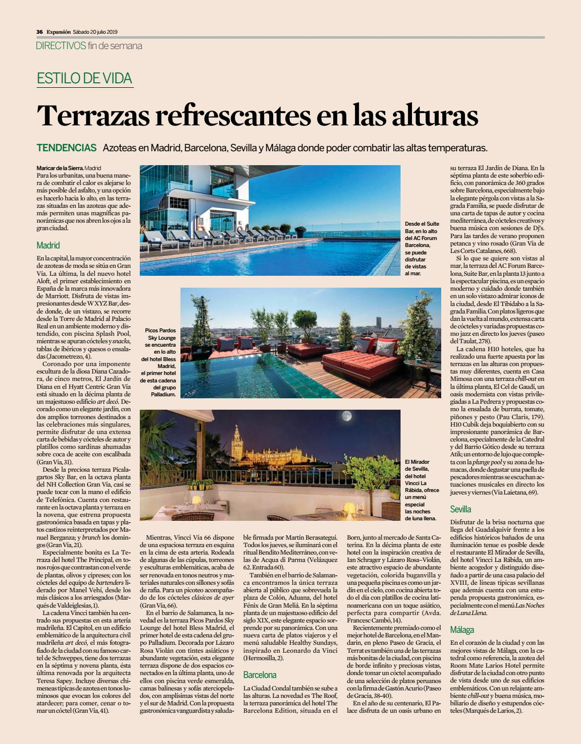 Terrazas Expansion By H10 Hotels Issuu