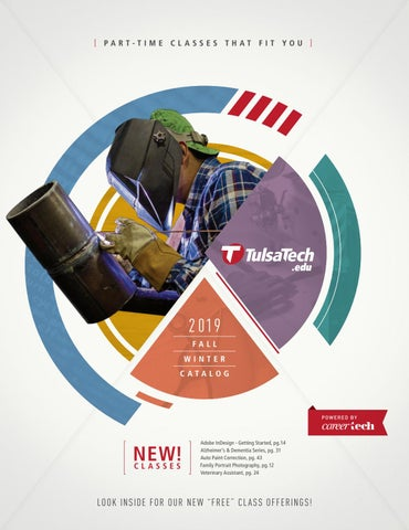 Part-Time Class Catalog - Fall/Winter 2019 by Tulsa Tech - issuu