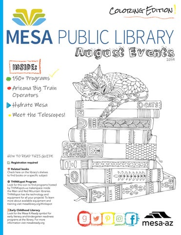 Mesa Public Library August 2019 Newsletter by CityofMesa - issuu