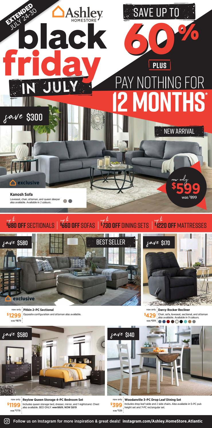 ashley furniture black friday in july