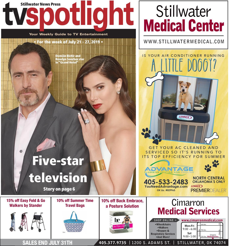 TV Spotlight 07-21-19 by Stillwater News Press - issuu