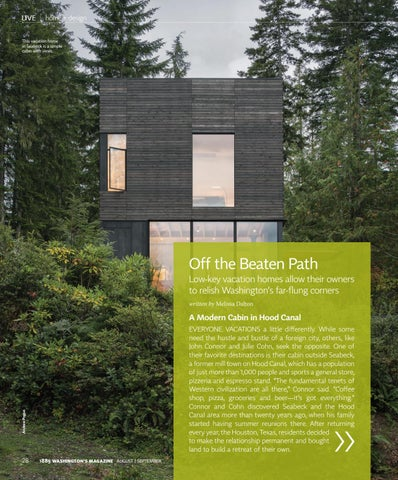 Page 30 of A modern cabin. An Orcas Island retreat. Low-key vacation homes