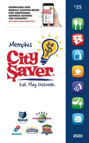 2020 Memphis City Saver Coupon Book By Southwestern Fundraising Issuu
