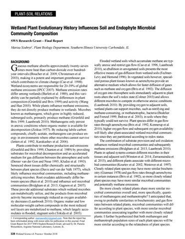 Page 22 of Wetland Plant Evolutionary History Influences Soil and Endophyte Microbial Community Composition