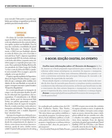 Page 32 of PERCEPÇÃO DE RISCOS VIRTUAIS AUMENTA PROCURA PELA PROTEÇÃO DO SEGURO