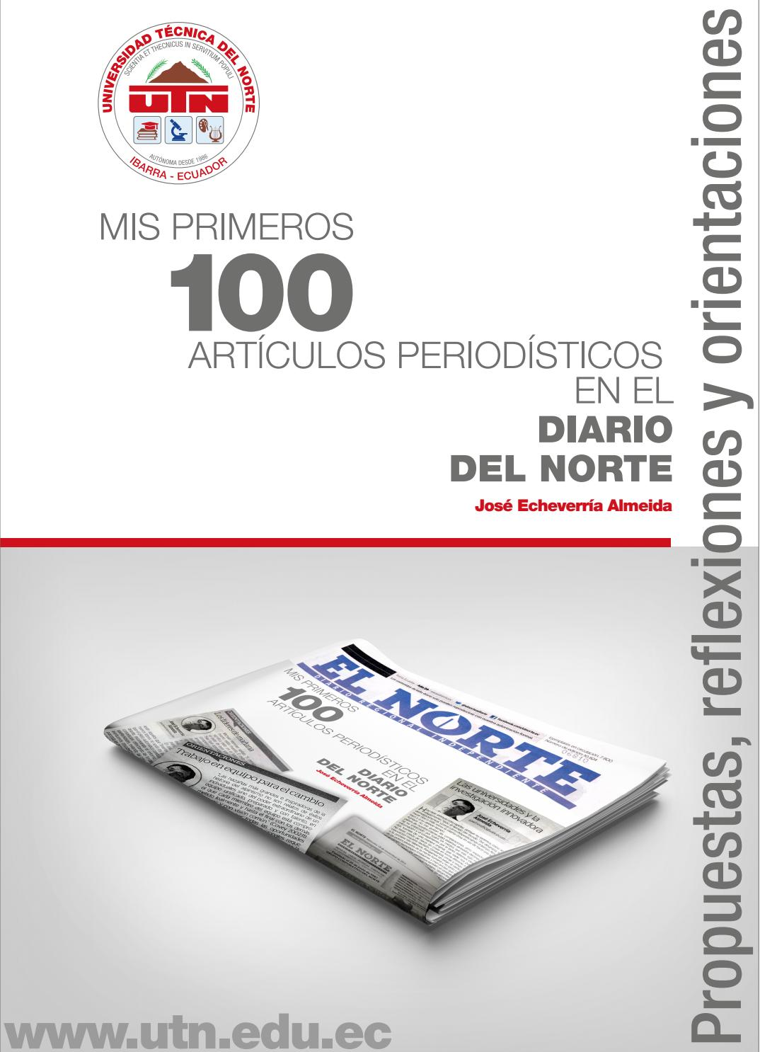 Mis Primeros 100 Artículos Periodísticos en el Diarios el