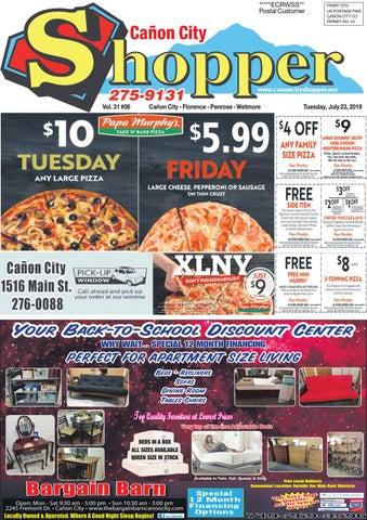 Cañon City Shopper ~ July 23, 2019 by Prairie Mountain Media - issuu