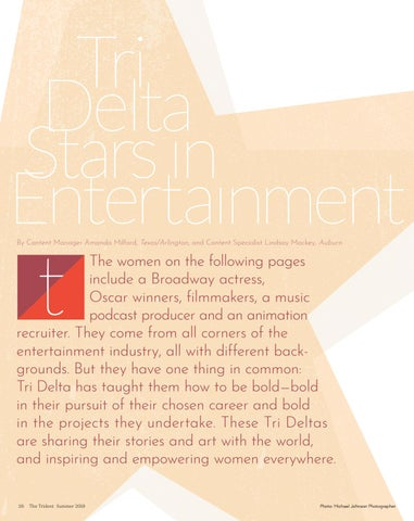 Page 28 of Tri Delta Stars in Entertainment