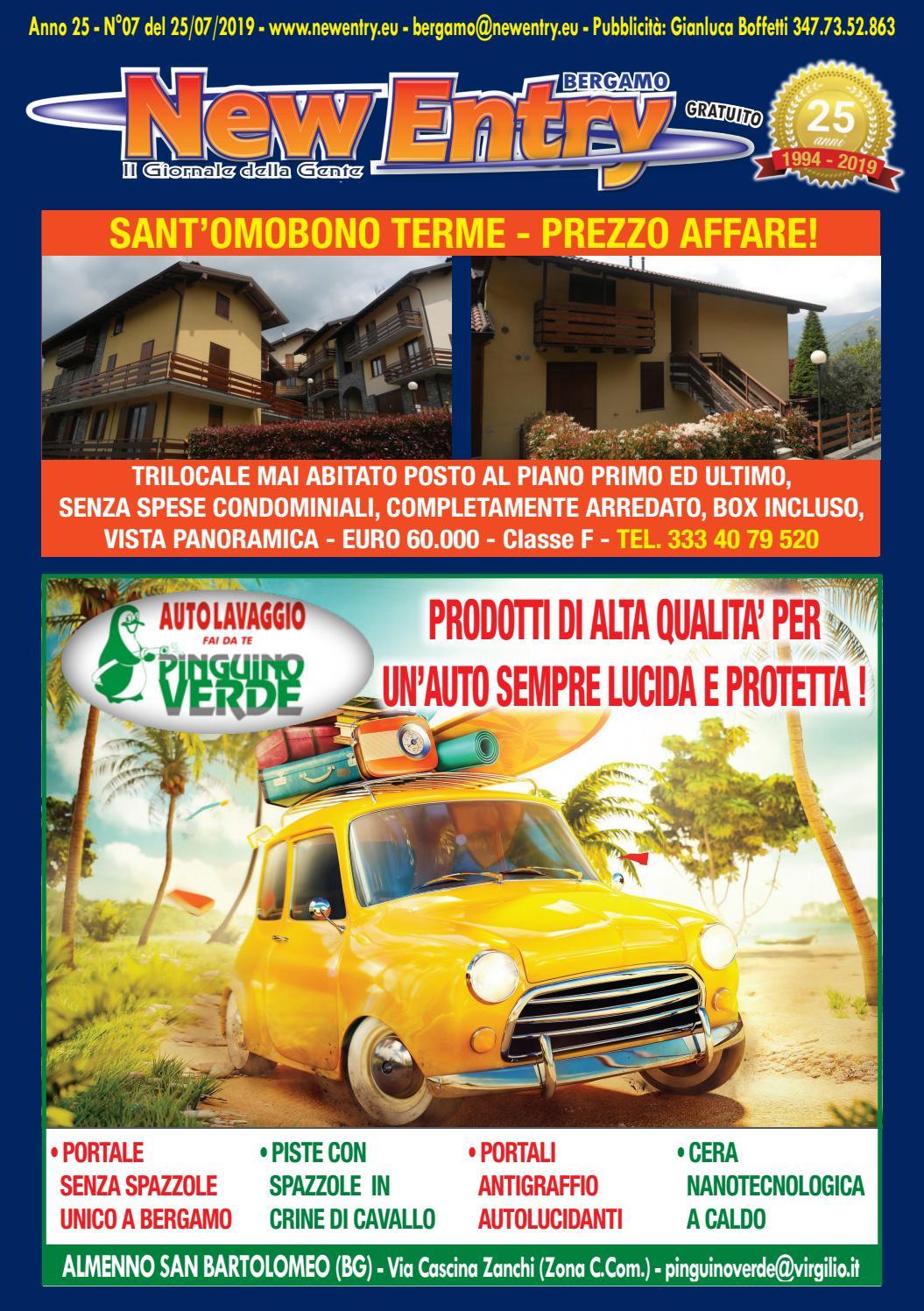 New Entry, il Giornale della Gente Edizione di Bergamo del