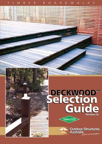 Deckwood Australia - Timber Boardwalk Design Guide R3 by