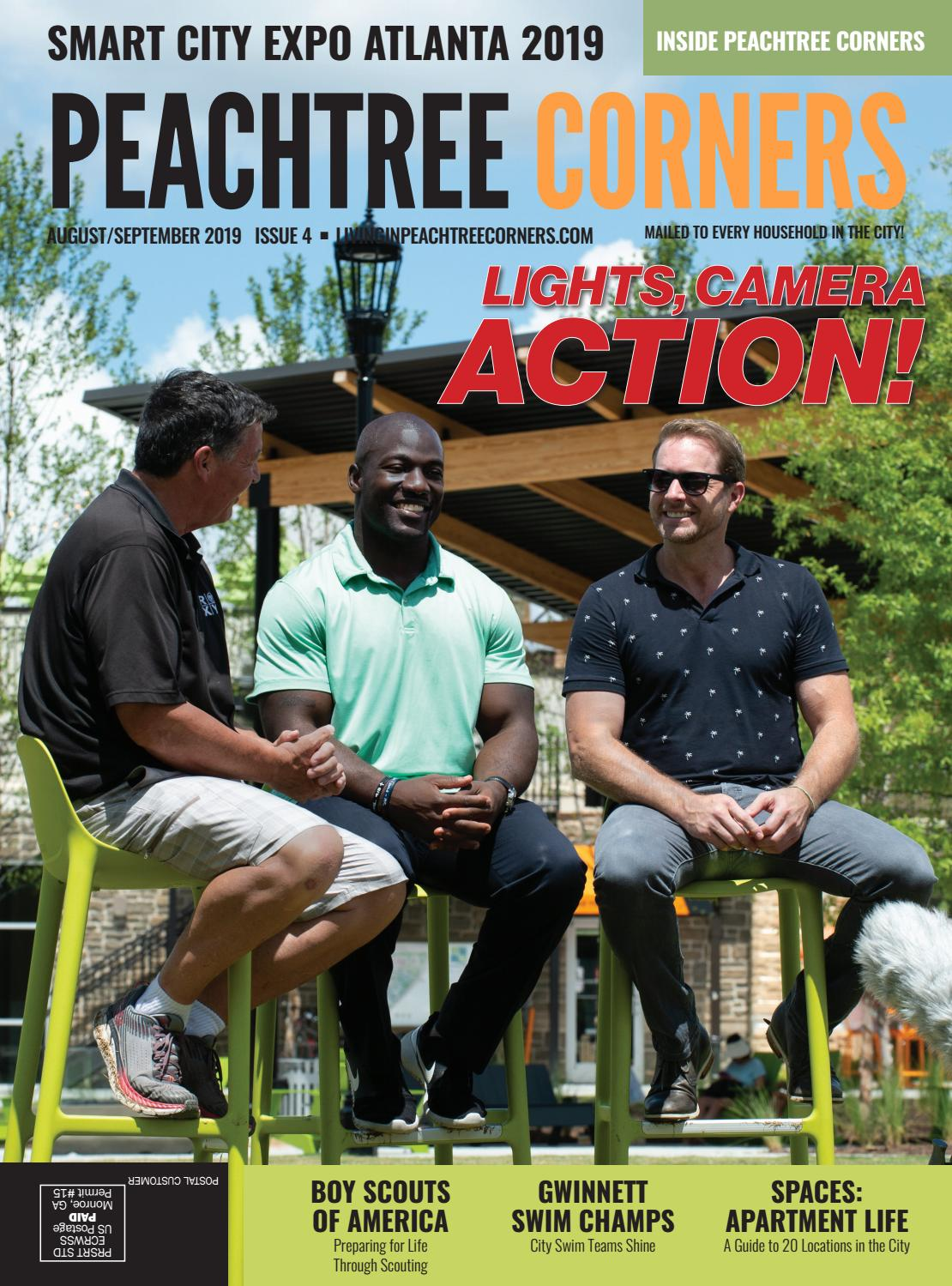 Peachtree Corners Magazine - August/September 2019 by Living