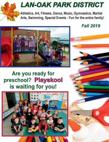 Lopd Fall 2019 Program Brochure By Lanoakparkdistrict Issuu