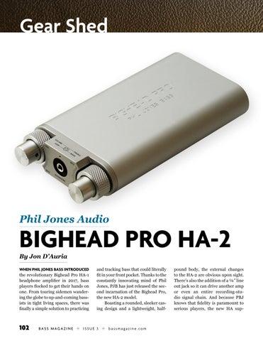 Page 102 of Review: Phil Jones Audio Bighead Pro HA-2