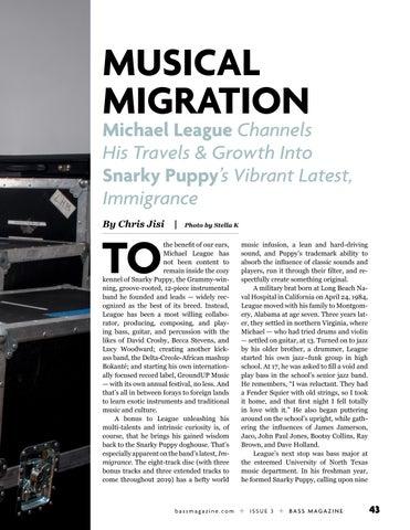 Page 43 of Michael League: Musical Migration