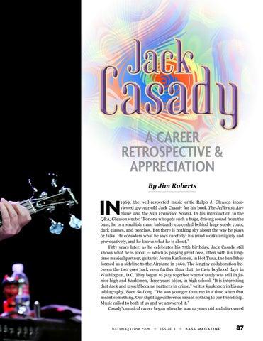 Page 87 of Jack Casady: A Career Retrospective & Appreciation