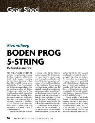 Page 98 of Review: Strandberg Boden Prog 5-string