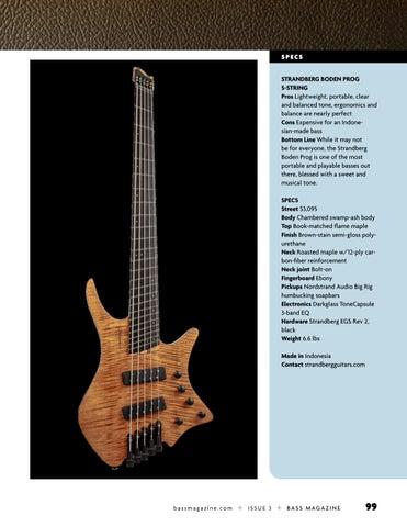 Page 99 of Review: Strandberg Boden Prog 5-string