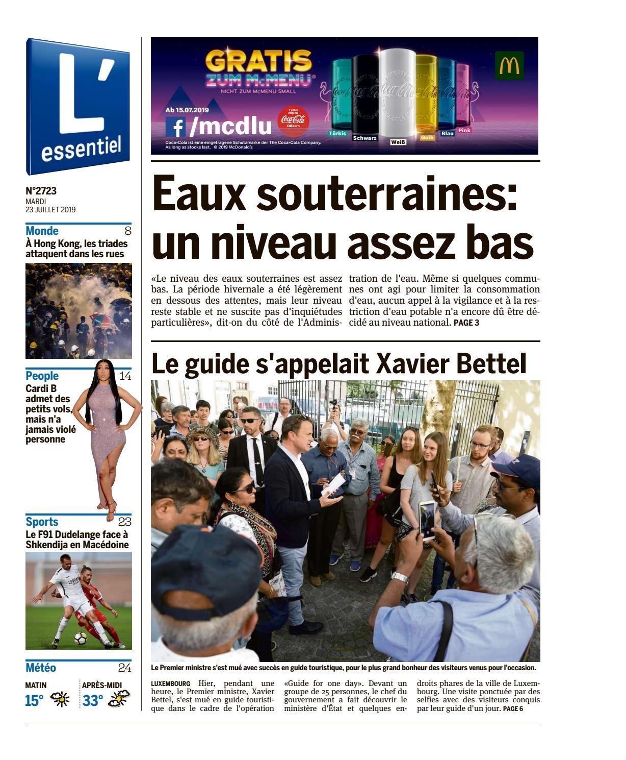 23 L'essentiel 07 2019 Epaper Issuu By OPZuwkXilT
