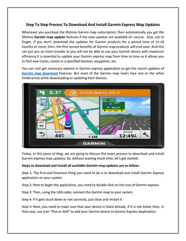 Step To Step Process To Download And Install Garmin Express ... Garmin Map Update Download on garmin map product key, garmin nuvi updates, garmin map updater not working, my garmin updates, garmin gps updates, garmin map 2014.20, garmin lifetime map upgrade, garmin software updates,