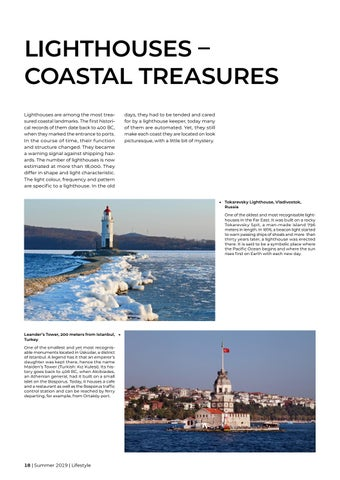 Page 18 of Lighthouses – coastal treasures