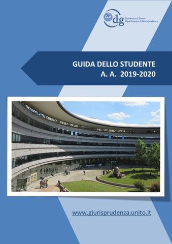 Calendario Esami Unica Giurisprudenza.Guida Giurisprudenza 2019 2020 By Scuola Di Scienze
