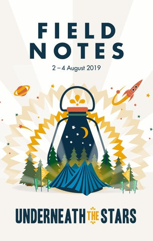 Underneath The Stars Festival Programme 2019 By