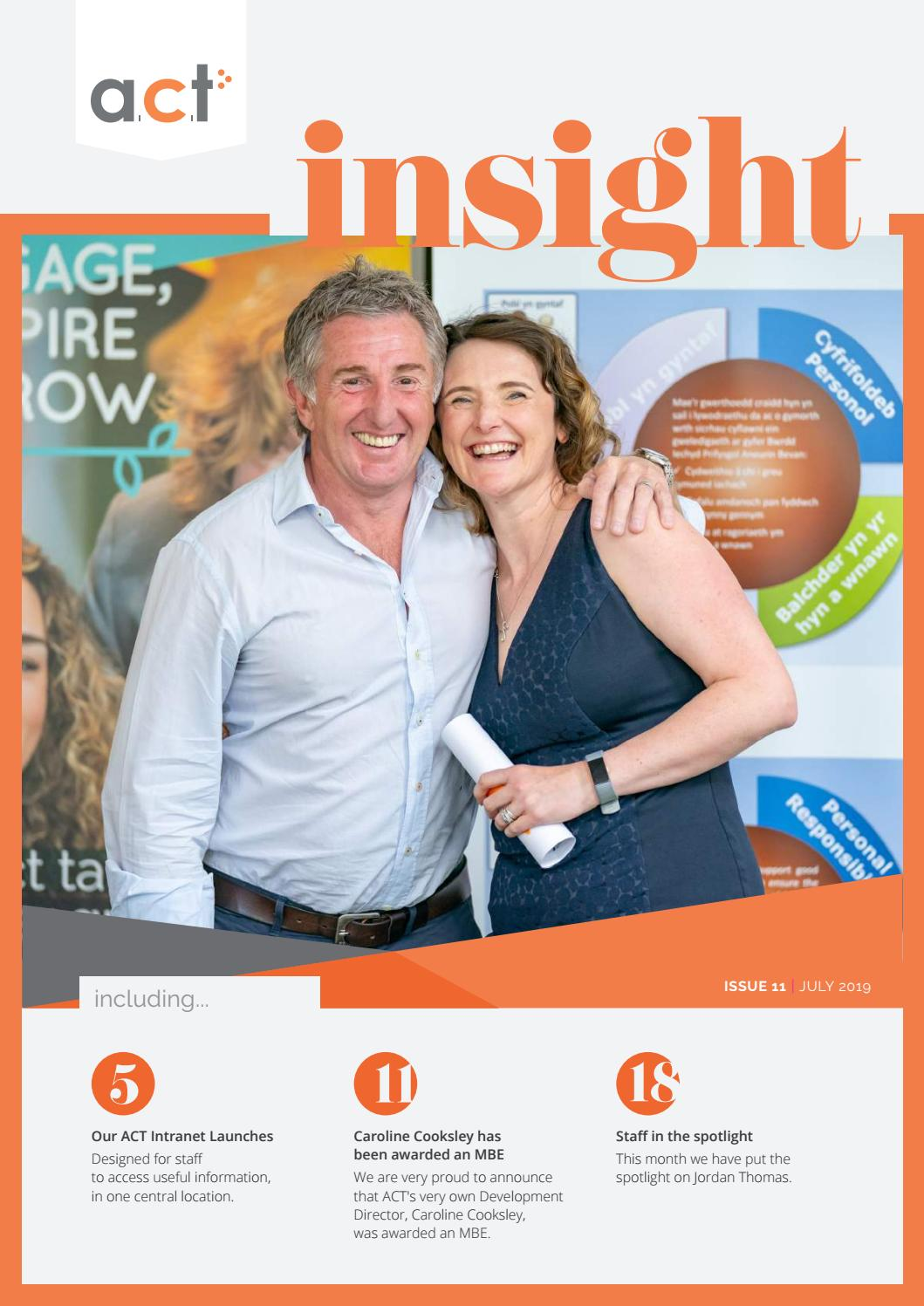 Insight Issue 11 by ACT Training - issuu
