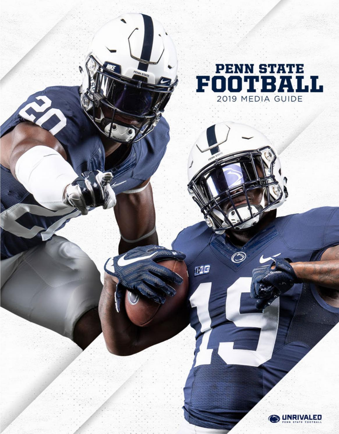 2019 Penn State Football Media Guide by Penn State Athletics